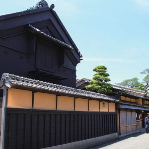 Memory of the Matsusaka merchant who was active in Edo