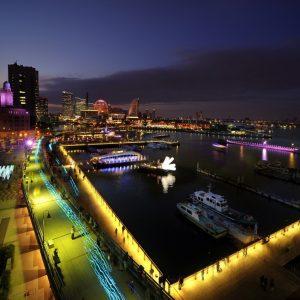 横浜の夜を彩る光の祭典