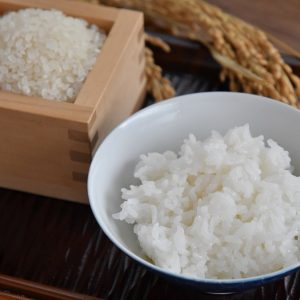 機内食にも採用された、おいしいお米