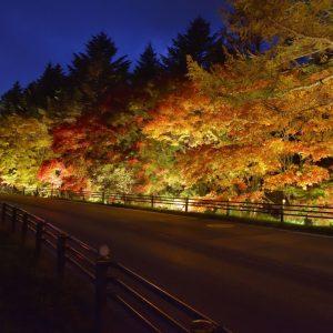 草津温泉で紅葉を愛でる