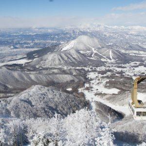 北志賀竜王高原で冬の絶景と出会う